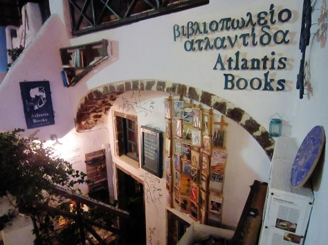 If you stumble across this bookstore in Oia, it's definitely worth checking out. You can feel the love of books in the air just by stepping into the cozy shop.