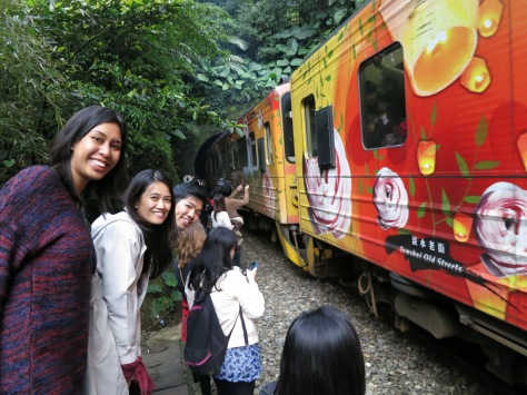 Close encounter with the Pingxi Rail