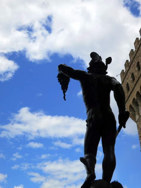 One of the many heroes immortalized near the Piazza dela Signoria