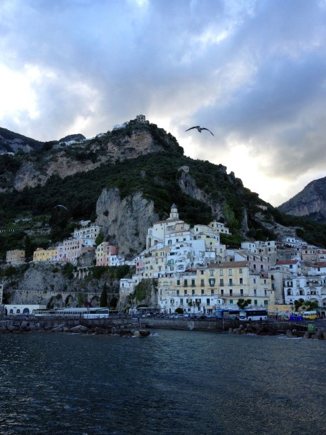 Glorious Amalfi at Dusk