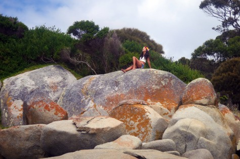 Amazed by the Bay of Fires