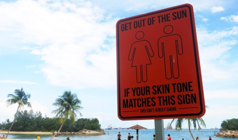 Get out of the sun if your skin tone matches this sign.