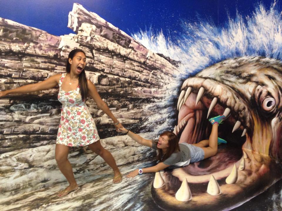 Trick Eye Museum - Monster Fish