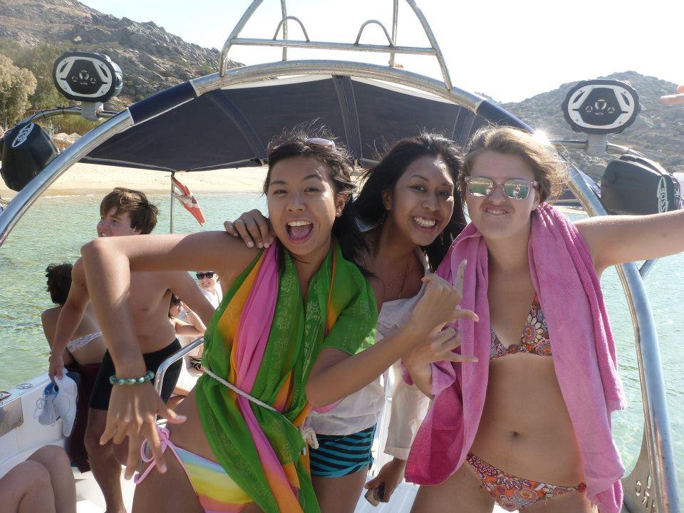 Solid friendships found in Greece