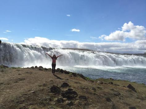 Free spirit at Faxafoss