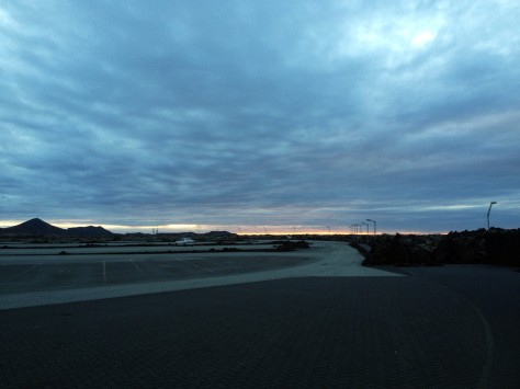 Photo bonus: the midnight sun just grazing the horizon at midnight, only to come up again a few moments later. All the more time to explore the wonders of oh-so-gorgeous Iceland.