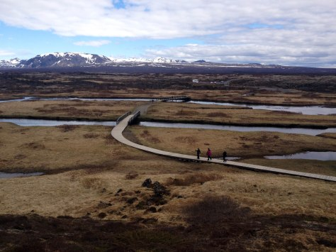 Þingvellir National Park is vast and gorgeous. Perfect when you want to be alone with your thoughts.