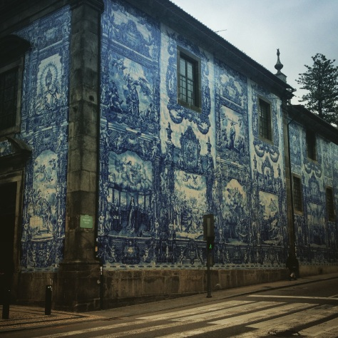 Waiting at the corner of Rua de Santa Catarina is a sight that takes your breath away.