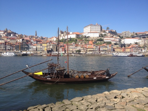 A slow day along the Duoro River