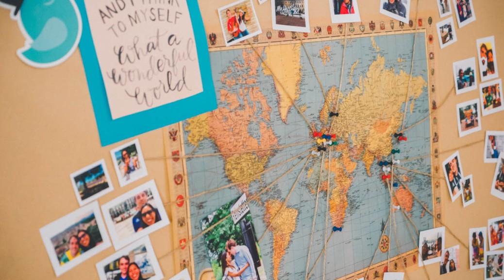 10 Ideas For A Wanderlust Y Travel Themed Wedding Ishcapades